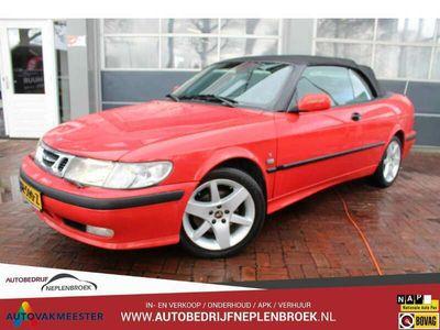 tweedehands Saab 9-3 Cabriolet 2.0t S Youngtimer Leer,17inch,Clima,Cv Deal
