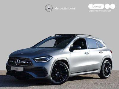 tweedehands Mercedes GLA200 Premium Plus AMG | Nightpakket | Panoramadak | Achteruitrijcamera | Widescreen MBUX | Stoelverwarming