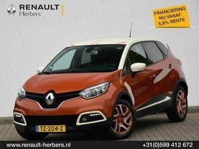 tweedehands Renault Captur 1.2 TCe Dynamique EDC AUTOMAAT / CAMERA / ECC / TREKHAAK / HANDSFREE PORTIEREN