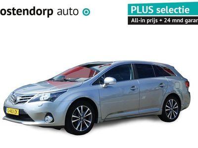 "tweedehands Toyota Avensis Wagon 1.8 VVTi Business Plus   Xenon + LED dagrijverlichting   17"" LM velgen   Stoel en ruitenwisser verwarming   Navigatie"