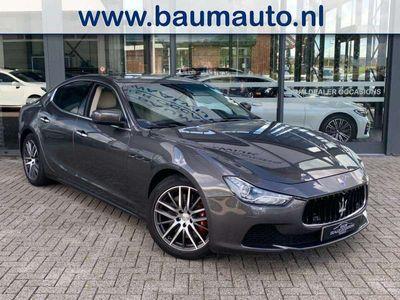 tweedehands Maserati Ghibli Q4 3.0 V6 411PK BI-TURBO 4WD FULL OPTIONS