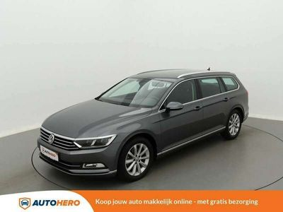 tweedehands VW Passat Variant 1.4 TSI ACT Highline TW36289 | Navi | LED | Leder/