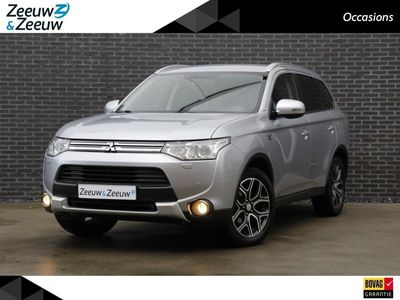 tweedehands Mitsubishi Outlander | Incl BTW | 2.0 PHEV Executive Edition X-Line | Zeer compleet | Half lederen bekleding | Parkeercamera | Trekhaak | Sale & Sale | € 1000,- Korting