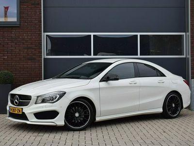 "tweedehands Mercedes CLA200 157pk AMG-line Leer/Xenon/Camera/18"""