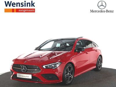 tweedehands Mercedes 180 CLA-Klasse Shooting BrakeAdvantage | Panorama-schuifdak | AMG Line | Nightpakket