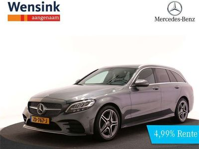 tweedehands Mercedes 200 C-Klasse EstateBusiness Solution AMG Automaat Navigatie Spiegel pakket 18'' Advantage Pack Stoelverwarming Parkeerpakket