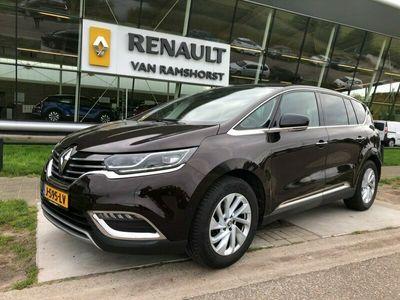 """tweedehands Renault Espace 1.6 dCi Dynamique 7p. Pan Dak Clima PDC 360 Keyless R-Link 18"""" LMV"""