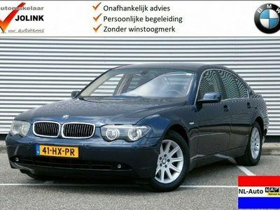 tweedehands BMW 745L 7-SERIE i Executive E65 I NL-Auto I Youngtimer I Navi I Cruise I C
