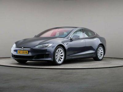 tweedehands Tesla Model S 75 Base Autopilot, Automaat, Led, Leder, Navigatie, Panoramadak