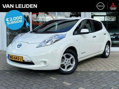tweedehands Nissan Leaf Έlectric 24kW Acenta incl. BTW | € 2.000 SEPP subs