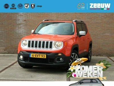 tweedehands Jeep Renegade 1.4 MultiAir 140 PK Opening Edition 1e eigenaar Leder NAvi LM PD