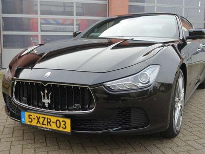 tweedehands Maserati Ghibli 3.0 V6 D org. NL Camera Volleder Historie
