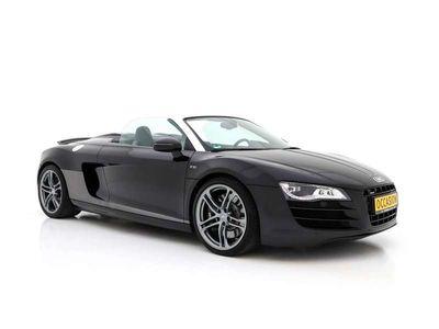 tweedehands Audi R8 Spyder 5.2 V10 Quat AUT.*BLACK OPTIK*SCHALENSITZE* 525 PK +LED+LEDER+B&O+NAVI+PDC+ECC+CRUISE*