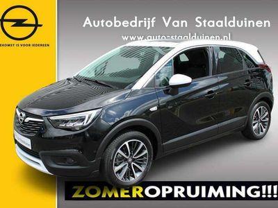 tweedehands Opel Crossland X 1.2 Turbo Ultimate 110pk| 17 inch velgen|Panoramadak| Two Color| Navigatie| Automaat