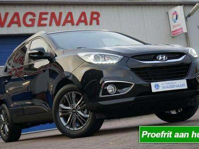tweedehands Hyundai ix35 1.6I GDI ZWART ZOMER EN WINTERSET