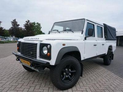 tweedehands Land Rover Defender 130 CREW CAB 43000 KM AIRCO EERSTE EIGENAAR