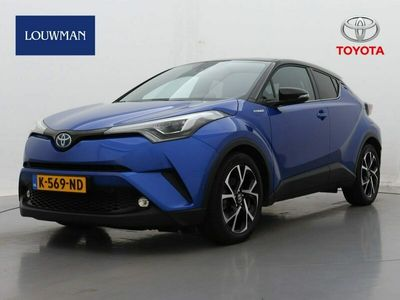 "tweedehands Toyota C-HR 1.8 Hybrid Bi-Tone Plus | Navigatie | Bi-Tone | 18"" LM velgen | Keyless | Leer"