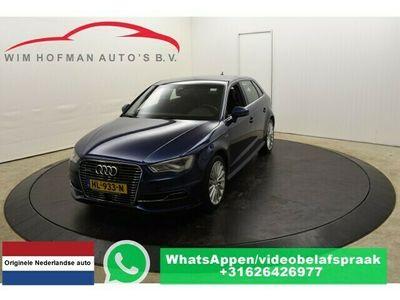 tweedehands Audi A3 Sportback 1.4 e-tron 2xS-Line Adaptive-Cruise Half-Leer Navi Clima