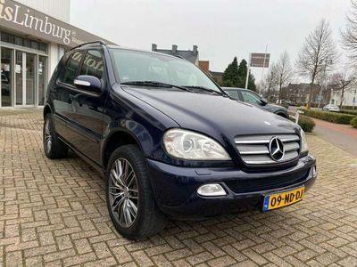 tweedehands Mercedes ML270 CDI Sublieme staat. Origineel Nederlands.