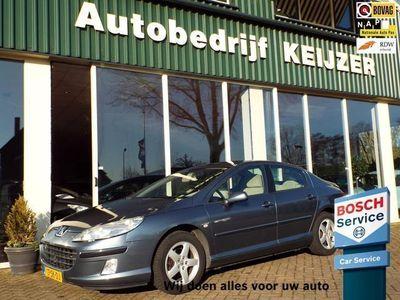 tweedehands Peugeot 407 1.6 HDiF XT CLIMA-CRUISE-NAP-APK