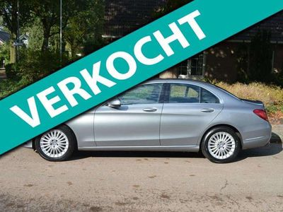 tweedehands Mercedes C220 CDI Ambition/org NL/NAP/136dkm/navigatie/leer