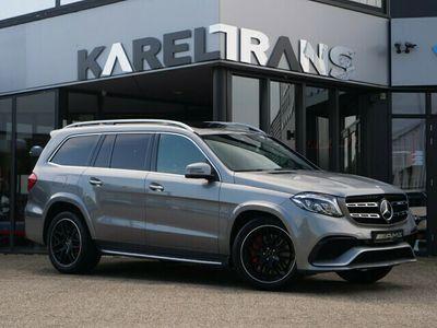tweedehands Mercedes GLS63 AMG V8 | 4Matic | B&O | massage | 360 camera | 7zitter