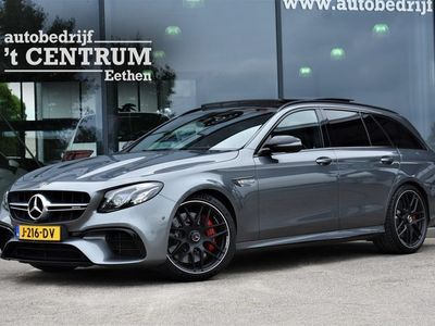tweedehands Mercedes E63 AMG E-KLASSES 612 PK 4MATIC+ Premium Plus, Performance Stoelen, Night Pakket, Panoramadak, Luchtvering, Burmester, Memory, 360 Camera