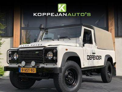 tweedehands Land Rover Defender 2.4TD 110 ENKELE CABINE PICK-UP 122PK WIT/ZWART 20