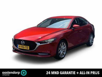 tweedehands Mazda 3 2.0 SkyActiv-X 180 Luxury I-active-sense pakket / Trekhaak / Bose / 360gr camera / Leder / Keyless
