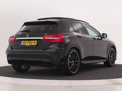tweedehands Mercedes GLA45 AMG AMG 4Matic Panoramadak | AMG Driver's package | Memory pakket | Stoelverwarming | Comand Online | | Excellent Offer !