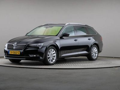 tweedehands Skoda Superb 2.0 TDI Style Business, Leder, Navigatie, Schuifda