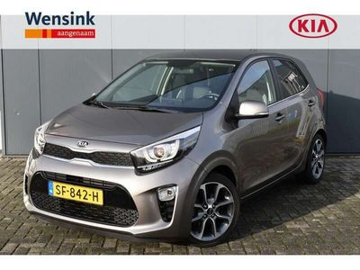 tweedehands Kia Picanto 1.0 CVVT Colour Edition | Climate control | Lederen bekleding | Camera | Navigatie | Apple carplay