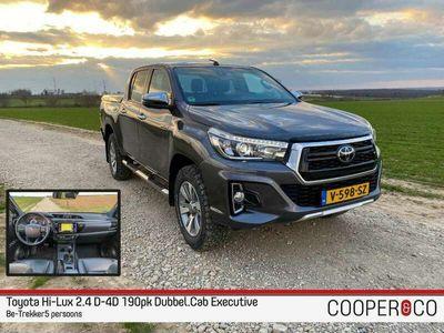 tweedehands Toyota HiLux 2.4 D-4D 190pk DC Executive  BE-Trekker  TOP staat