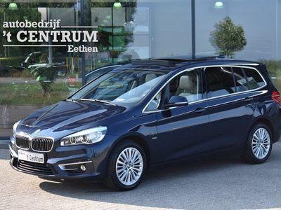 tweedehands BMW 218 2-SERIE Gran Tourer d Luxury, Leder, Panoramadak, Stoelverwarming, LED
