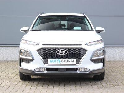 tweedehands Hyundai Kona 1.6 GDI HEV Fashion Automaat | Head-Up Display | Premium Audio | Navigatie | Camera | Connected Services | Dodehoek Detectie | Adapt. Cruise Control | Rijklaarprijs!