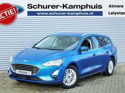 tweedehands Ford Focus Wagon 1.0 EcoBoost MHEV Hybrid Titanium X Business