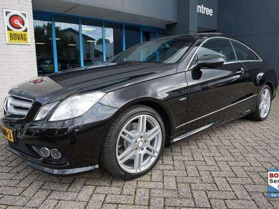 tweedehands Mercedes E250 Coupé CGI Elegance leer / opendak !