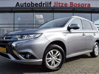 tweedehands Mitsubishi Outlander  2.0 PHEV Business Edition Full Map Navi, Leder/Alcantara, ECC, DAB, Dealer Onderhouden, EX. BTW!!
