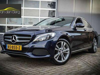 tweedehands Mercedes C350 350e 350 e Lease Edition 18inch/Designo Leer ex BT