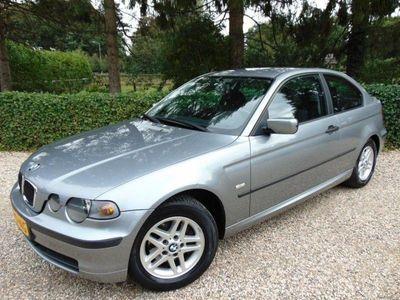 tweedehands BMW 316 Compact 3-SERIE Compact ti Black&Silver Airco / Cruise / Navi / Isofix /