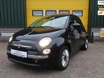 tweedehands Fiat 500C 1.2 Lounge Cabrio airco pdc bj 2015