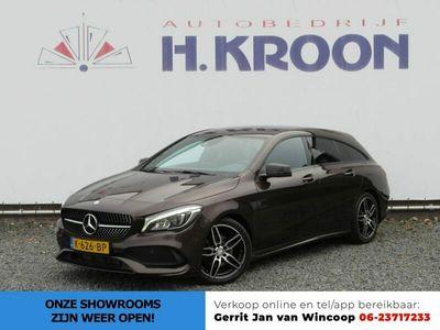 """tweedehands Mercedes 180 CLA-KLASSE Shooting BrakePrestige AMG Line Automaat - navigatie en 18"""" AMG velgen"""