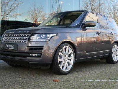 tweedehands Land Rover Range Rover 3.0 SD V 6 Vogue 32 D.Km Leder Ivory