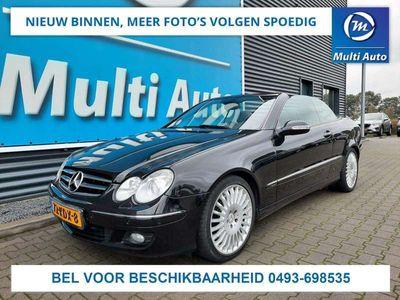 tweedehands Mercedes CLK350 Elegance Automaat Leder Navigatie Climate Control Stoelverwarming + Ventilatie Parkeersensoren Voor + Achter