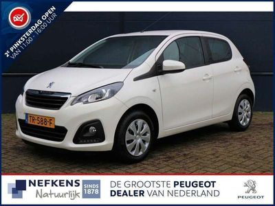 tweedehands Peugeot 108 1.0 Active / Airco / Bluetooth / Led Dagrijverlich