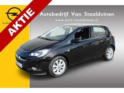 tweedehands Opel Corsa 1.0 Turbo Edition Navigatie| Airco| Lichtmetalen velgen| Parkeer sensoren| Stuur verwarming