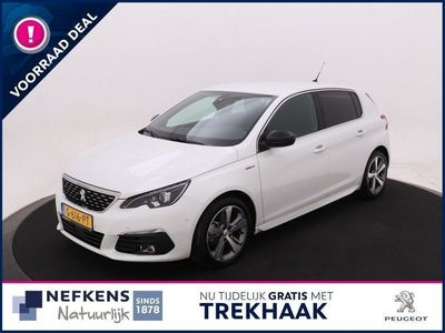 tweedehands Peugeot 308 1.2 PureTech 130 PK ! GT-line | Navigatie | A-camera | Panoramadak | Parkeerhulp V+A | Airco | LM 17'' | | NEFKENS DEAL