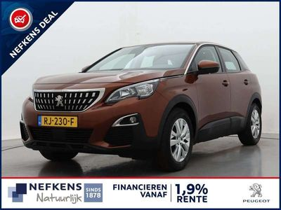 tweedehands Peugeot 3008 1.6 BlueHDi 120pk Blue Lease Executive | Navigatie