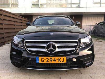 tweedehands Mercedes E350 E 350hybrid amg line wide screen