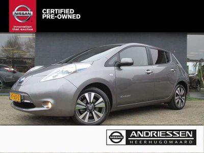 tweedehands Nissan Leaf Leaf24KWh Tekna[Clima,Navi,Leer,Cruise]